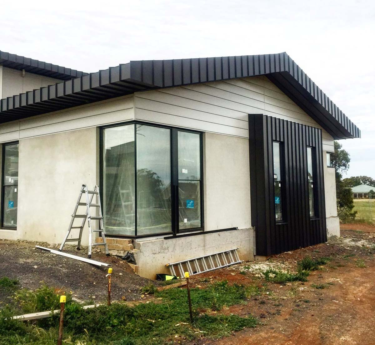 Plumbers Pipe Cladding : Melton domestic architectural cladding roofing total